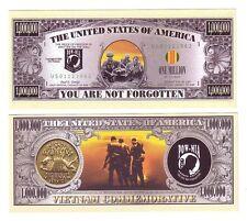 "1 MILLION DOLLARS ETATS-UNIS ""PRISONER OF WAR - VIETNAM"""