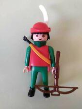 Caballero Oscuro Doble Hacha Caballo Medieval 3315 -COMPLETO OVP Playmobil