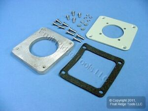 Leviton to Hubbell Pin & Sleeve 20A 3-Wire Back Box Adapter Plate AP320-H