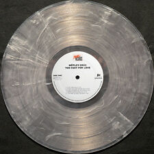MOTLEY CRUE - TOO FAST FOR LOVE - LE CLEAR & WHITE COLOR 180 GRAM VINYL LP
