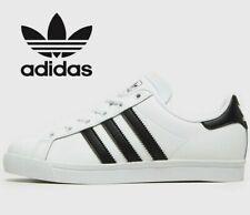 🔥2020 Adidas Originals Court Star ® ( GS Size UK 5.5 EUR 38.5 ) White Black