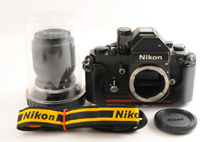【TOP MINT】NIKON F2 Photomic S Black +AIS Zoom NIKKOR 35-105mm F/3.5-4.5 Lens JP