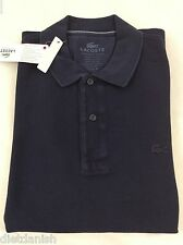 Lacoste Men's Polo Shirt Brand New with Tags Black Noir Size EU 3 US XS