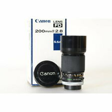 Canon FD 2,8/200 S.S.C. Teleobjektiv - FD 200mm 1:2.8 Tele Lens