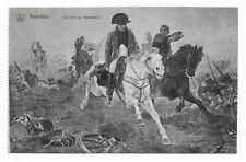 Waterloo -The Flight of Napoleon Vintage Postcard Unused 891N