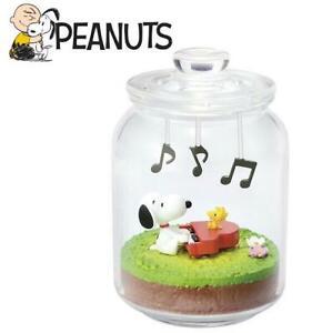 Peanuts Snoopy & Woodstock Miniature Everyday Terrarium Set Piano 10
