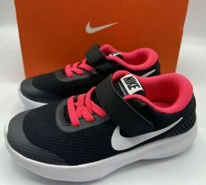 Nike Flex Experience RN 7 Play School Girls Running Shoes 943288 001 Size 10.5c