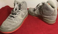 Nike Air Force 1 High-653998-201 Khaki /Flush Coral Size 5Y