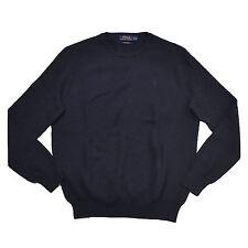 Polo Ralph Lauren Mens Sweater Pima Crewneck Cotton Lightweight Pony Logo New