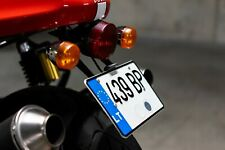 Ducati Sport Classic license plate bracket with LED lightning, EU legal