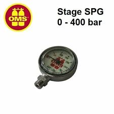 OMS Stage SPG, 0 - 400 bar (including swivel, without HP hose) 14118001 Gauge
