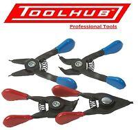 Tool Hub 9201 Mini Small Circlip Plier Set 4 Piece Set Internal External