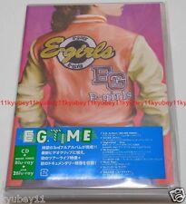 E-girls E.G. TIME Regular Edition CD 3 Blu-ray Japan RZCD-59765 4988064597659