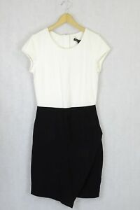 Charlie Brown Cream and white Dress 10 by Reluv Clothing