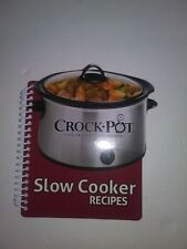 Crock-Pot Slow Cooker Recipes Cooking Kitchen Recipe Book Family Dinner Planner