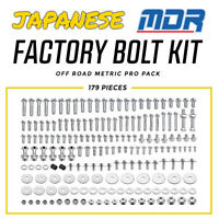MDR Japanese Factory Bolt Kit