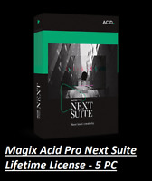 NEW✔️2020 MAGIX ACID PRO Next Suite 1.0.3 ✔️ Windows License ✔️ Digital Download