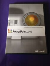 MICROSOFT POWERPOINT 2003 FULL RETAIL VERSION GENUINE WITH PRODUCT KEY