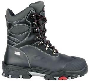 Cofra BERING BIS S3 WR CI SRC black size UK12 / EU47 & gauged leather work boots
