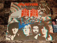 Mark Farner Signed Grand Funk Railroad Vinyl LP Shinin' On 2011 Hippifest Photo