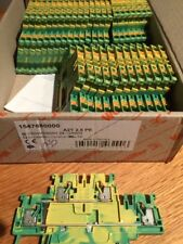 Weidmuller 1547680000 montaggio su guida DIN Blocco Terminale A2T 2.5 PE (confezione da 35)