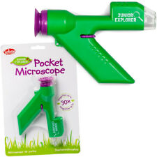 Pocket Microscope Insecte Bug Viewer Loupe Jouet Extérieur Jardin Discovery