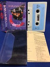 Duran Duran Arena Japan Cassette Tape ZR28-1225 Recorded Around The World 1984