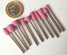 10 piece mini grindstone set to fit  Dremel and similar tools
