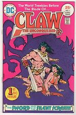 Claw the Unconquered #1 & giant-size CONAN #3 VF LOT (2) 1975 DC Marvel Bronze