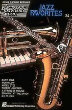 Partition pour clavier - Jazz Favorites