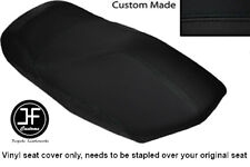 BLACK VINYL CUSTOM FITS YAMAHA YP 125 MAJESTY 00-03 FRONT SEAT COVER ONLY