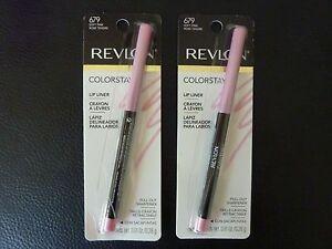Revlon ColorStay Lip Liner / Lipliner - SOFT PINK  #679 - TWO - Both New /Sealed