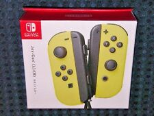 NEW Nintendo Official Switch Joy-Con Neon Yellow SET for Console System JAPAN FS