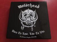 """Motörhead - Born To Lose, Live To Win"""" Bronze Singles Box 1978-81 Earmark 2004"""