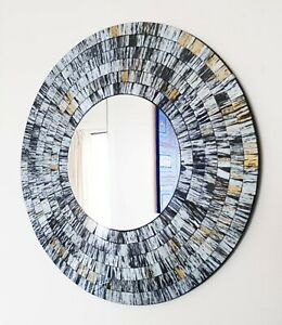 Round Mosaic Decorative Mirrors For Sale Ebay