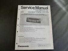 Original Service Manual Panasonic CQ-DP700LEE CQ-RDP710EN 720LEN