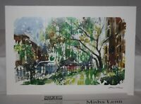 Misha Lenn, Commonwealth in Bloom, 2002 Park West Signed Seriolithograph & COA