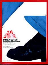 Bravo--Starschnitt-- Uschi Glas & Roy Black  -- 1969 -- Teil  1 / 2 --