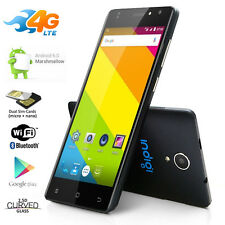 "4G LTE Unlocked SmartPhone Android 6.0 MM 5"" IPS Curve Screen Quad-Core Dual-Sim"