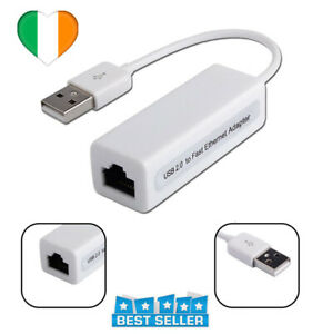 USB to Internet RJ45 Ethernet Adapter USB 2.0 Network Card Lan 100Mbps