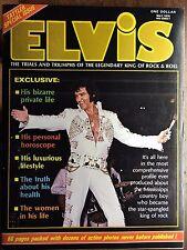 Elvis Presley 1976 Trails & Triumphs The Legendary King Of Rock & Roll Magazine