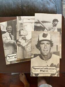 Sports Collectors Digest 1980 No 20-23