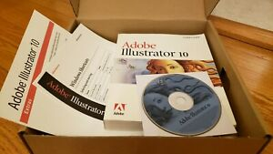 Adobe Illustrator 10 for Windows with Book, Quick Ref. + Extras! Full Version