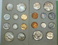1958 Double P & D Mint Set - 20 Coins - Original, Toned, and Still in OGP