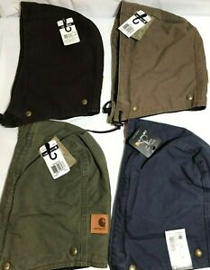 NWT Carhartt Men's A149 Replacement Hood - Sandstone, Quilt Lined 4 Button Snap