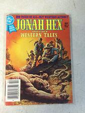 JONAH HEX WESTERN TALES #3 blue ribbon dc digest, 100 pages, 1980 KILLERS DIE!!