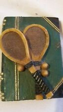 Paperweight..Tennis ...Rare...Unique...very old