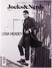 Lena Headey RARE Jocks & Nerds fashion magazine - Game of Thrones - Out of Print