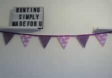 Mouse Bunting purple Nursery Baby Bedroom Baby Shower Party