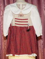 TRACHTEN Kleid von FLOWER-POWER   ☺ DIRNDL ☺ Kleid ☺ Gr. 98/104 ☺ *TOP*   ☺